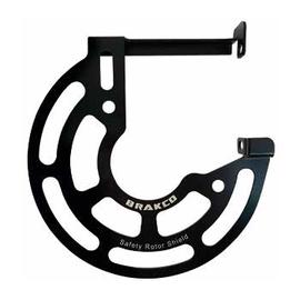 Proteggi disco anteriore Brakco post mount
