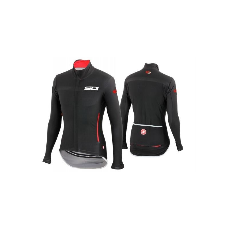 Giacca Sidi Dino Tre Windstopper Jacket nero rosso by Castelli