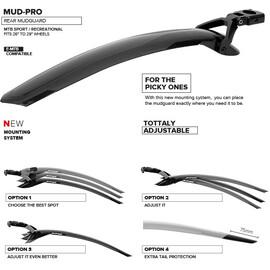 Mud-Pro parafango posteriore MTB