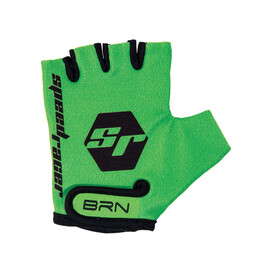 Guanti bambino Speed Racer verde fluo